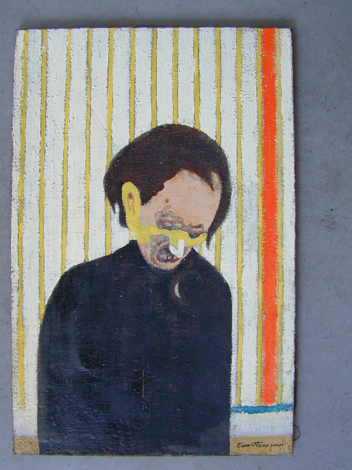 Portrait d'Antonin Artaud par Pierre Courtens